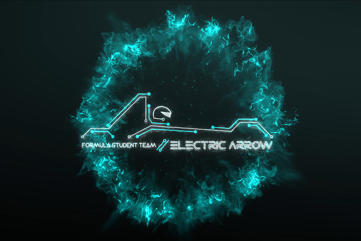 elektricna strela logo, electric arrow logo reveal, formula student electric team, tim logo